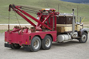 Ken's Towing, Livingston, MT, tow truck